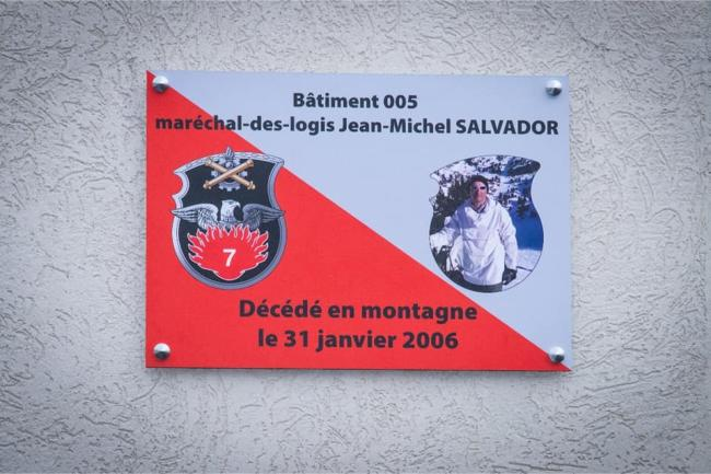 Plaque SALVADOR 1bis